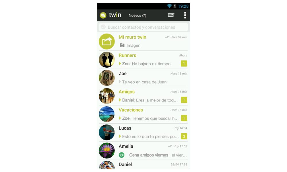 Inbox TWIN app